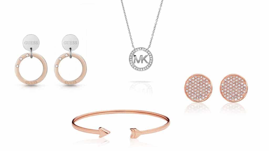 Dámske šperky Tommy Hilfiger, Guess, Michael Kors. Náramky, náhrdelníky, náušnice pre dámy
