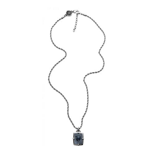 Pánske náhrdelníky - Extravagantný pánsky náhrdelník Diesel