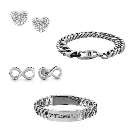 Šperky z chirurgickej ocele sú materiálom číslo 1 v oblasti pánskych a dámskych šperkov