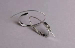 Kruhové náušnice od značky Skagen