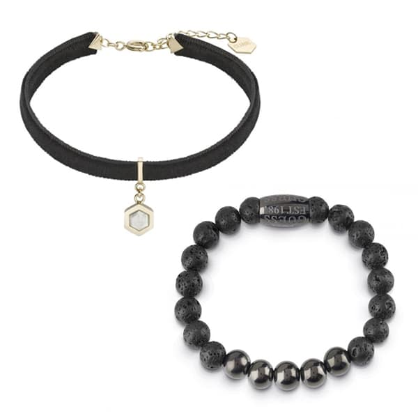 Čierne šperky upútajú svojím elegantným a luxusným vzhľadom