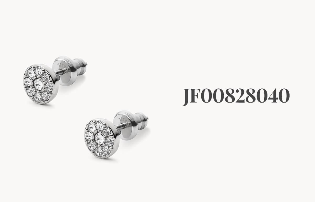 Dámske šperky Fossil - náušnice s kamienkami