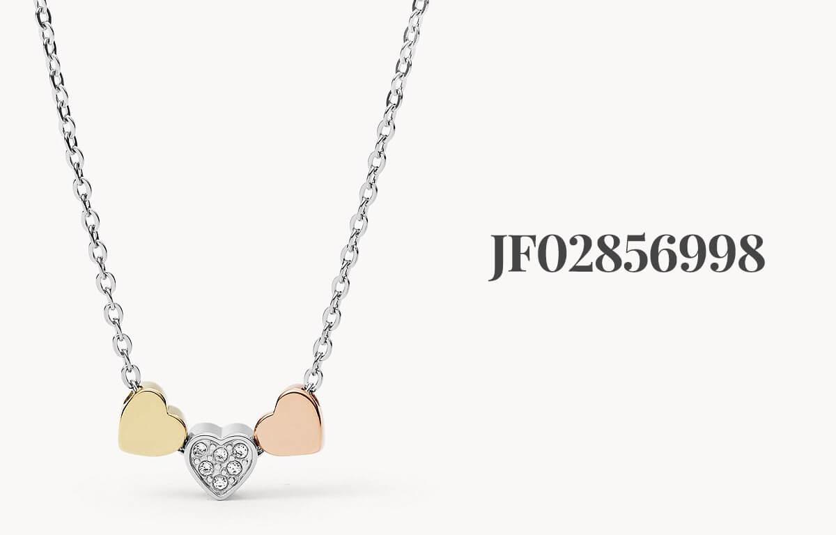 Trojfarebný náhrdelník Fossil JF02856998