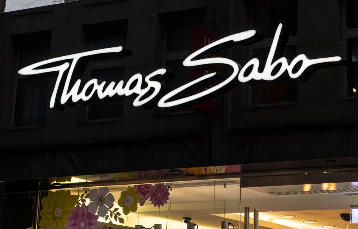 Záber na predajňu Thomas Sabo