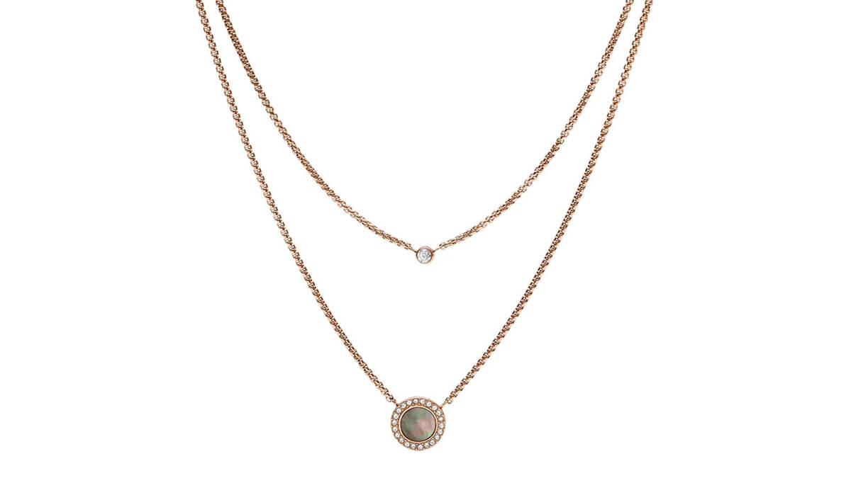 Minimalistické šperky vyrába aj značka Fossil